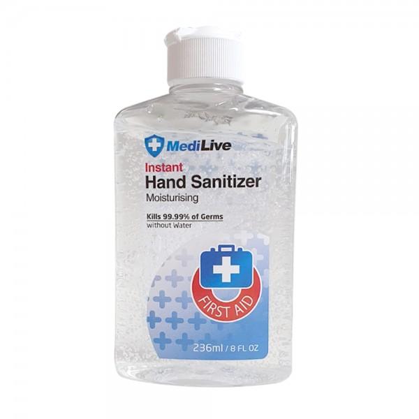 Händedesinfektionsgel 236ml/Flasche, mit 70% Alkohol